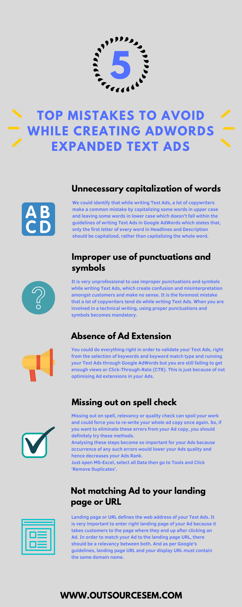 Top Mistakes To Avoid While Creating Adwords Expanded Text Ads